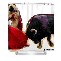 Andale Shower Curtain by Bruce Nutting