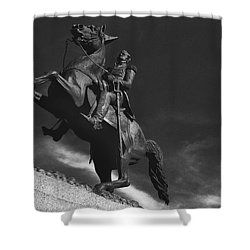 Andrew Jackson   Shower Curtain by Ron White