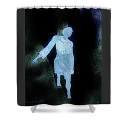 Shower Curtain featuring the photograph Oh That I Were An Angel  by Larry Campbell