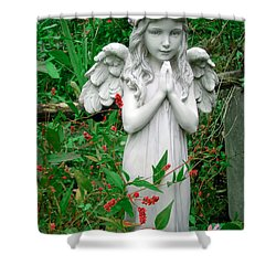 Shower Curtain featuring the photograph Angel by Aimee L Maher Photography and Art Visit ALMGallerydotcom