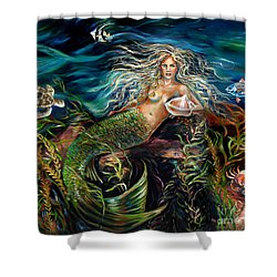 Angel Eyes Shower Curtain