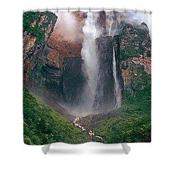 Angel Falls In Venezuela Shower Curtain
