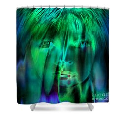 Angel Kiss Shower Curtain