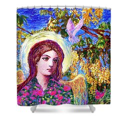 Angel Love Shower Curtain