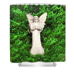 Angel My Gaurdian Shower Curtain