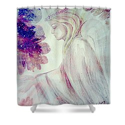 Angel Of Mercy 2 Shower Curtain by Leanne Seymour