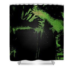Angel Of The Forest Shower Curtain by Lisa Brandel