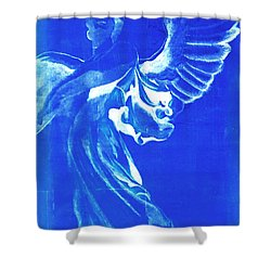Angel Of The Horizon  Shower Curtain