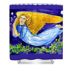 Angel Of The Skies Shower Curtain