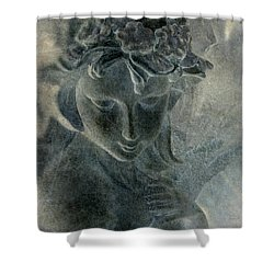 Angel Shower Curtain by WB Johnston