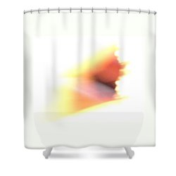 Shower Curtain featuring the photograph Angel Wing by Mike Breau