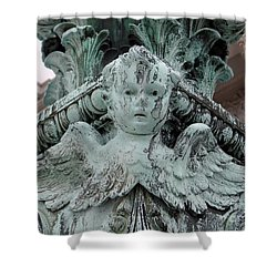 Shower Curtain featuring the photograph Angel Wings by Ed Weidman