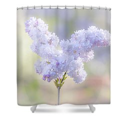Angela Shower Curtain by Elaine Teague