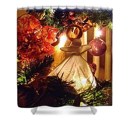 Angelic - Christmas 2012 #christmas Shower Curtain