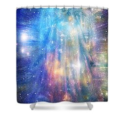 Angelic Being Shower Curtain