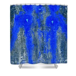 Angels I Have Seen II Shower Curtain