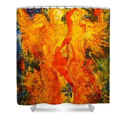 Angels Of Passion Shower Curtain