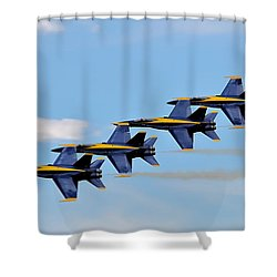 Angels Of The Sky Shower Curtain