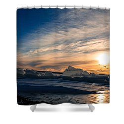 Angostura Ice 2 Shower Curtain