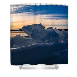 Angostura Ice Shower Curtain
