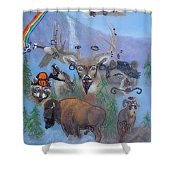 Animal Equality Shower Curtain