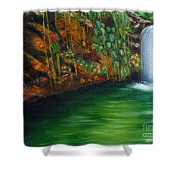 Annadale Waterfall Shower Curtain