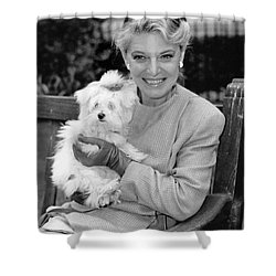 Anne Bancroft Shower Curtain