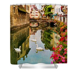 Annecy Shower Curtain