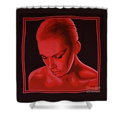 Annie Lennox Shower Curtain