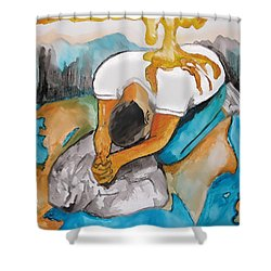 Anointed One Shower Curtain