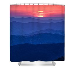 Another Day Ends Shower Curtain