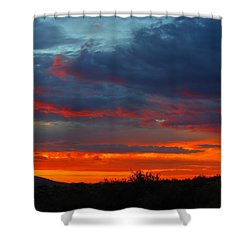 Another Masterpiece Created By The Hand Of Our Creator. Shower Curtain