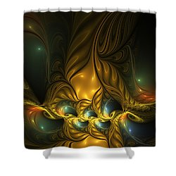 Another Mystical Place Shower Curtain