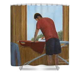 Another Sexy Man Shower Curtain