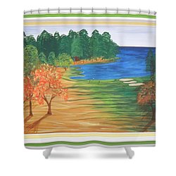 Another Sunday Morning Shower Curtain