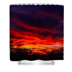 Another Tucson Sunset Shower Curtain