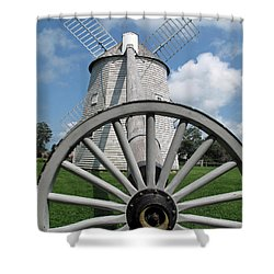 Another View Shower Curtain by Barbara McDevitt
