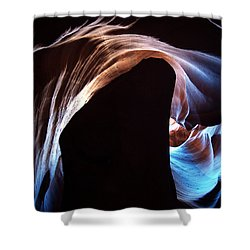 Antelope Canyon 09 Shower Curtain by Jeff Brunton