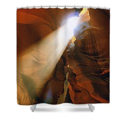 Antelope Canyon One Shower Curtain