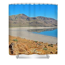 Antelope Island Shower Curtain