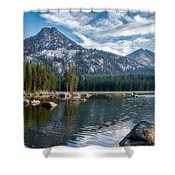 Anthony Lake Shower Curtain