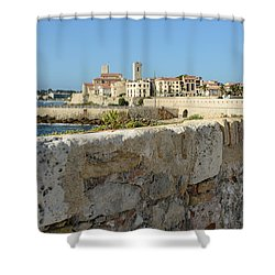 Antibes France Shower Curtain