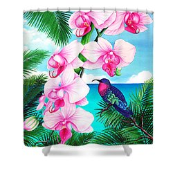Anticipation Shower Curtain by Carolyn Steele