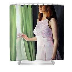 Anticipation Shower Curtain