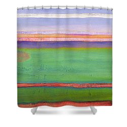 Anticipation Shower Curtain by Lou Gibbs