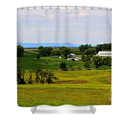 Antietam Battlefield And Mumma Farm Shower Curtain
