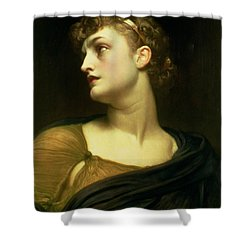 Antigone Shower Curtain by Frederic Leighton