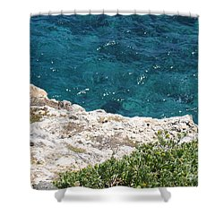 Antigua - Flight Shower Curtain by HEVi FineArt
