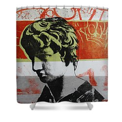 Antinous V Shower Curtain by Carmine Santaniello