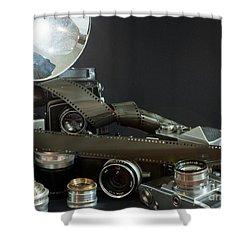 Antique Cameras Shower Curtain